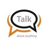 Mowa bąbla rozmowy ikona ilustracji