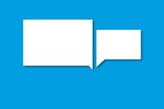 Mowa bąble jako symbol dla komunikaci Zdjęcia Royalty Free
