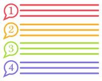 Mowa b?bla ikony logo szablonu wektoru ilustracje ilustracji
