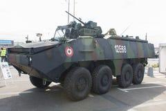 MOWAG-PIRANHA IIIC av den rumänska armén Arkivfoto