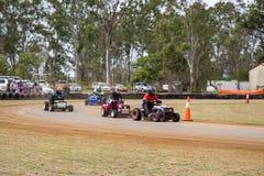 Moweer que compete em Yaamba, Austrália Imagem de Stock