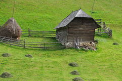 Mower house / Romania. Traditional Romanian house for mower people Royalty Free Stock Photography