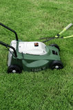 Mowers. Mowers in the green field Royalty Free Stock Image