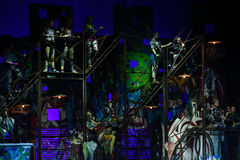 Mowgli Generation the musical at SPIEF 2015 Stock Photo