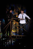 Mowgli Generation the musical at SPIEF 2015 Stock Image