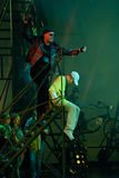 Mowgli Generation the musical at SPIEF 2015 Stock Images