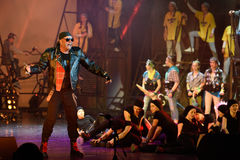 Mowgli Generation the musical at SPIEF 2015 Stock Photography