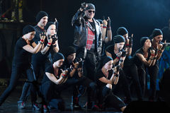 Mowgli Generation the musical at SPIEF 2015 Stock Photos