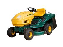 Mowing machine Stock Photography