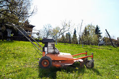 Mowing Machine Royalty Free Stock Photography