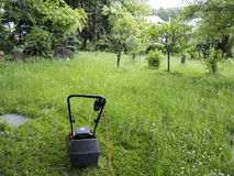 Mowing Royalty Free Stock Photos