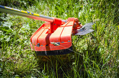 Free Mowing The Grass Royalty Free Stock Image - 98465176