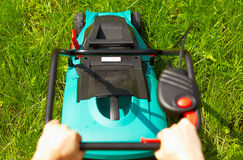 Free Mowing The Lawn Royalty Free Stock Images - 21517979