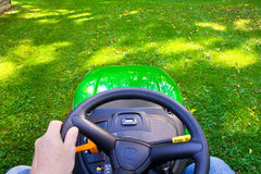 Free Mowing The Lawn Royalty Free Stock Image - 34500096