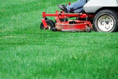 Free Mowing The Lawn Royalty Free Stock Photography - 79952387