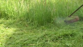 Mowing. stock video footage