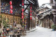 Moxi old street scenery Royalty Free Stock Photos