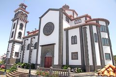 Moya kathedraal Gran Canaria Spanje stock afbeelding