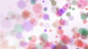 Moyamoya-Partikel lizenzfreie abbildung