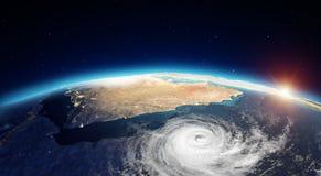 Moyen-Orient de l'espace rendu 3d Photographie stock libre de droits