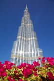 Moyen-Orient, Emirats Arabes Unis, Dubaï, du centre, Burj Khalifa Photos stock