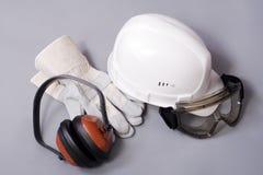 moyens de construction protecteurs Images stock