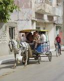 Moyens de transport au Cuba 2013 Photo libre de droits