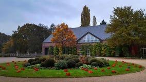 Moyland slott i Tyskland Royaltyfri Foto