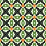 Mozaïek abstract geometrisch patroon Royalty-vrije Stock Afbeeldingen