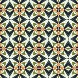 Mozaïek abstract geometrisch patroon Royalty-vrije Stock Afbeelding