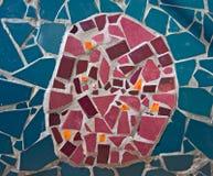Mozaïek dat van stenen wordt gemaakt royalty-vrije stock fotografie