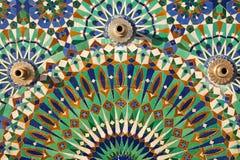 Mozaïek, Hassan II Moskee, Casablanca Royalty-vrije Stock Afbeeldingen