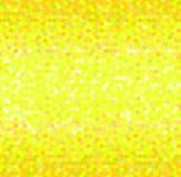 Mozaïek naadloze heldere zwart-wit gele vectorachtergrond Stock Fotografie