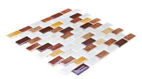 Mozaïek, textuur, patroon Stock Afbeeldingen
