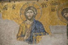 Mozaïek van Jesus Christ Stock Afbeelding