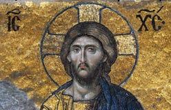 Mozaïek van Jesus-Christus Royalty-vrije Stock Afbeeldingen