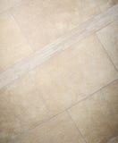 Mozaïek van vloer het marmeren bruine tegels Royalty-vrije Stock Foto's