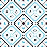 Mozaïekachtergrond met naadloos patroon in Islamitische stijl royalty-vrije illustratie