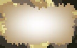 Mozaïekachtergrond in pastelkleurtoon Royalty-vrije Stock Fotografie