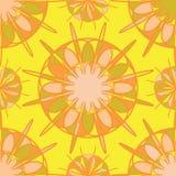 Mozaïekbloemen Royalty-vrije Stock Afbeeldingen