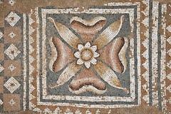 Mozaïeken bij de Grote Baden in Dion royalty-vrije stock fotografie