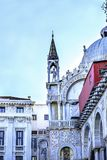 Mozaïeken Heilige Mark& x27; s Kerk Venetië Italië Stock Foto's