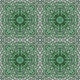 Mozaïektegels in de kleur van Bourgondië Stock Fotografie