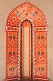 Mozaïektegels van de architectuur van het Middenoosten Stock Foto
