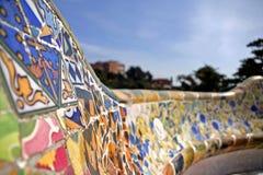 Mozaïek van gebroken tegels Royalty-vrije Stock Fotografie