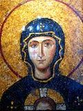 Mozaic in Hagia Sophia Stock Photos