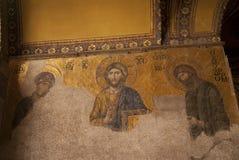 Mozaics in Aya Sofia Royalty-vrije Stock Foto's