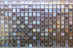 Mozaik płytek grunge tekstur ścienny tło Obrazy Royalty Free