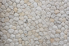 Mozaik wall, close up. White mozaic wall texture, close up Stock Images