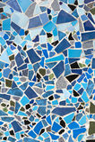 Mozaika ścienny dekoracyjny ornament od ceramicznej płytki Fotografia Stock
